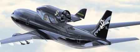 Proyecto de lanzadera suborbital SOAR, sobre un Airbus