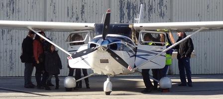 Cessna 182 del Aeroclub