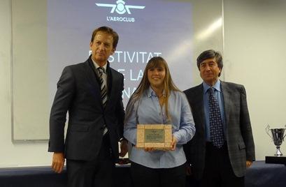 Ana Gómez, de 17 años, ha sido este año la piloto más joven