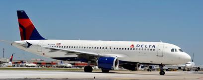 A320 de Delta Airlines