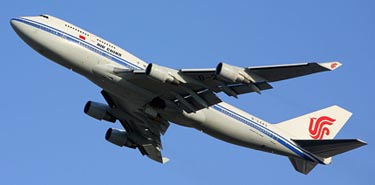 Boeing 747 de Air China / Foto: Wikipedia