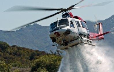 Cuenta con un simulador del helicóptero Bell 412