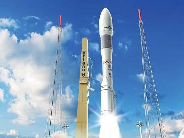 Imagen virtual del Ariane 6