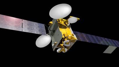 Imagen virtual del satélite