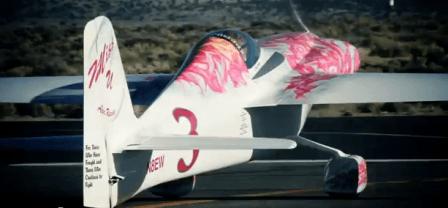 Avión de carreras
