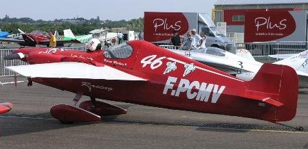 Cassutt IIIM Racer (F-PCMV), en el aeropuerto de Nevers en julio de 2005 / Foto: AeroTendencias.com