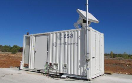 Radar de la ESA / Foto: ESA