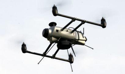 UAV de Delta Drone