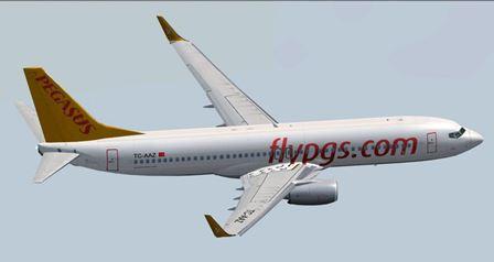 Boeing 737 de Pegasus