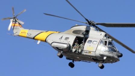 Helicóptero Super Puma del SAR (HD19-5) / Foto: JFG - AeroTendencias