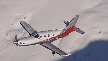 S autonomía de vuelo es de 3.200 km. / Foto: Daher-Socata