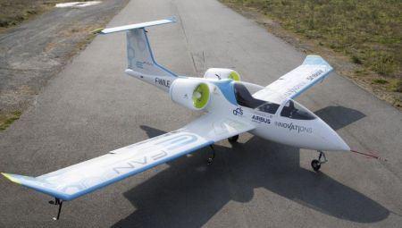 Prototipo del E- Fan / Foto: Airbus