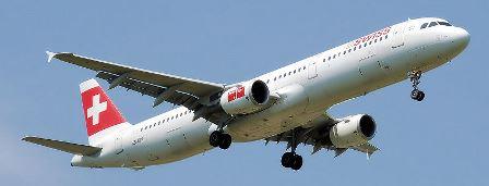 A321 de Swiss / Foto: Arpingstone - Wikipedia