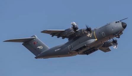 A400M de la Fuerza Aérea de Turquía