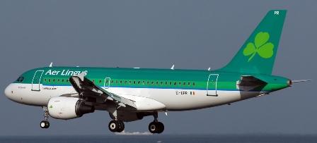 El suceso ocurrió en un avión de Aer Lingus / Foto: Adolfo Malet