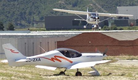 Durante Aerosport se realizan cientos de operaciones aéreas