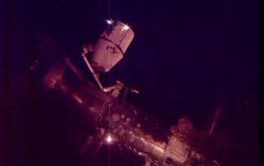 Momento del acoplamiento / Foto: NASA