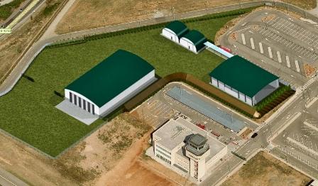 Imagen virtual del Jardín-Museo que empieza a construir FPAC.
