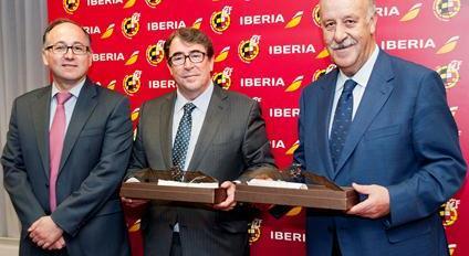 Luis Gallevo, JOrge Pérez y Vicente del Bosque