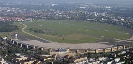 Imagen del exaeropuerto de Tempelhof