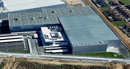 Industria de Aernnova en Illescas