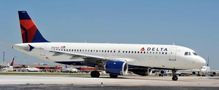 A320 de Delta