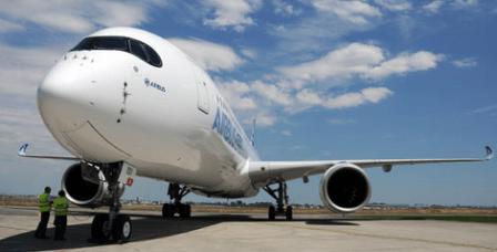 El A350 acumula 742 pedidos en firme