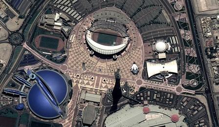 Instalaciones deportivas en Doha (Qatar) / Foto: Deimos-2