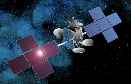 Imagen virtual del satélite Hispasat 1E