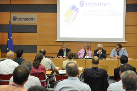 De izqjuierda a derecha, Willian Motzer, Antonio Tanarro, Vicente Cortés y Pedro Arroyo
