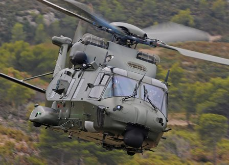 NH90 de Bélgica