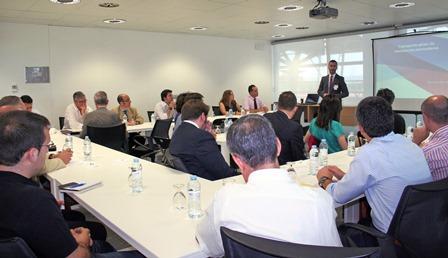 Imagen de la reunión / Foto: Aena
