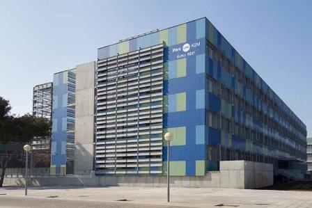 Edificio de la UPC que acogerá las empresas incubadas
