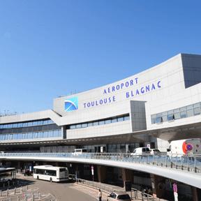 Edificio terminal de Toulouse-Blagnac