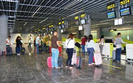Terminal del aeropuerto de Gran Canaria / Foto: Aena