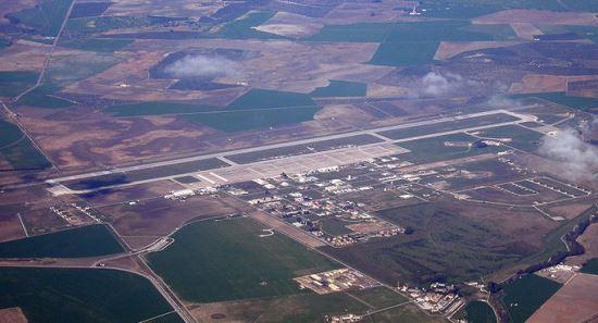Imagen aérea de la Base de Morón / Foto: Wikipedia