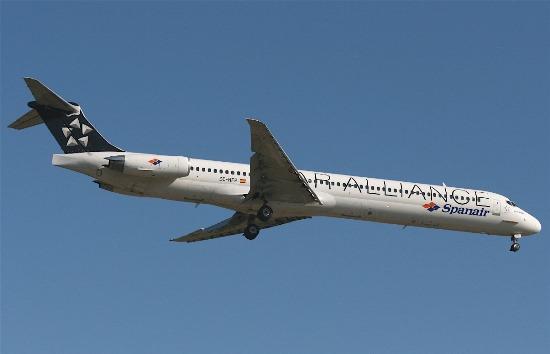 El avión siniestrado, fotografiado un mes antes del accidente en Barcelona / Foto: AeroTendencias