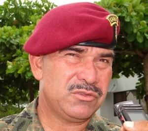 El general Rudy Israel Ortiz