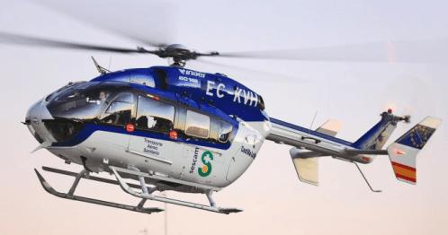 Helicóptero EC145 de Inaer