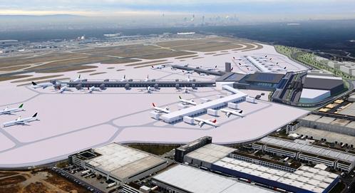 Imagen virtual de la futura terminal