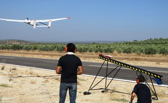 Se ha utilizado un UAV del modelo Wiever