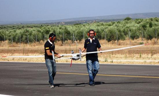 El UAV llevaba un transpondedor