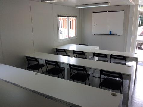 Aula de Coptering para impartir las clases teóricas