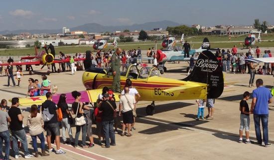 Habrá la habitual jornada de puertas abierta en el Aeropuerto de Sabadell / Foto: JFG
