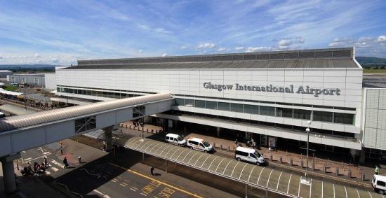 Terminal del aeropuerto de Glasgow / Foto: Ferrovial