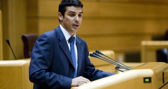 El senador de Coalición Canaria Narvay Quintero Castañeda