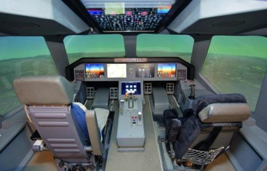 Cockpit del KC-390