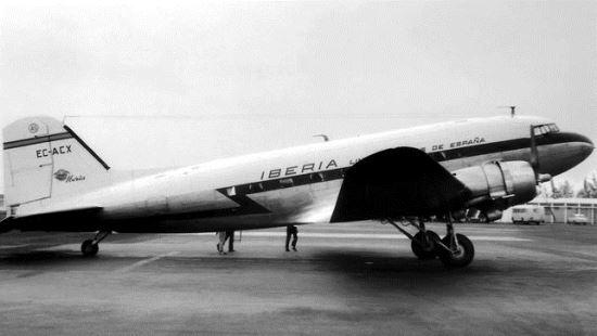 El Douglas DC-3, matrícula EC-ACX, hoy en el fondo del mar de El Sauzal