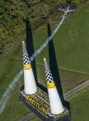 El avión de Hannes Arch
