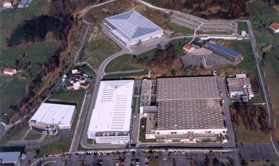 Vista aérea de las instalaciones de ITP en Zamudio / Foto: ITP